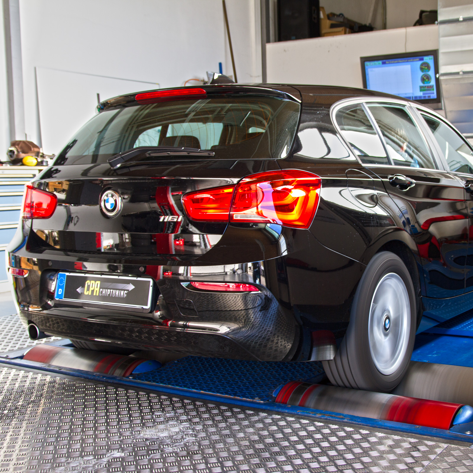 With CPA at the dyno: BMW 116i