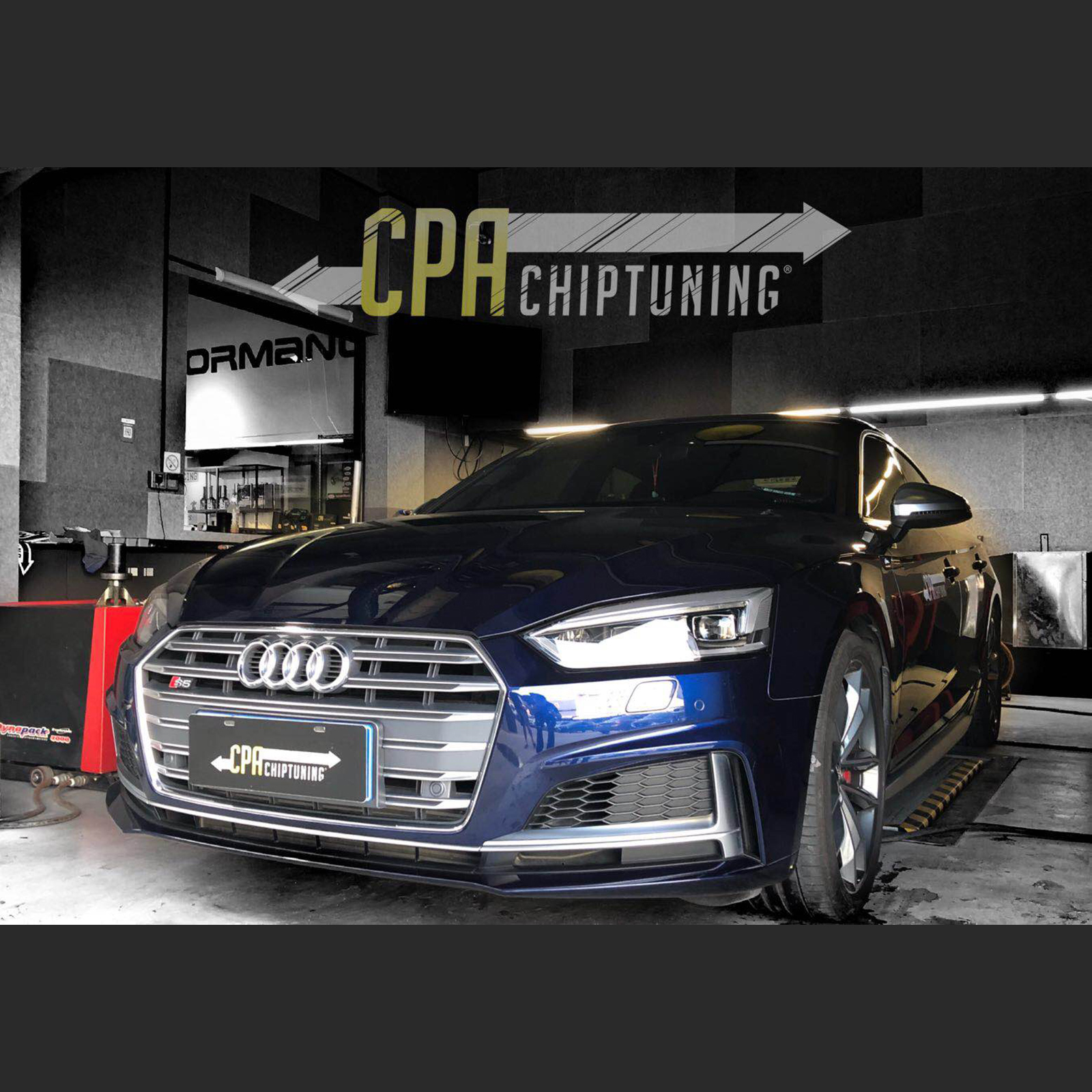 Chiptuning Audi: S5 with CPA Power