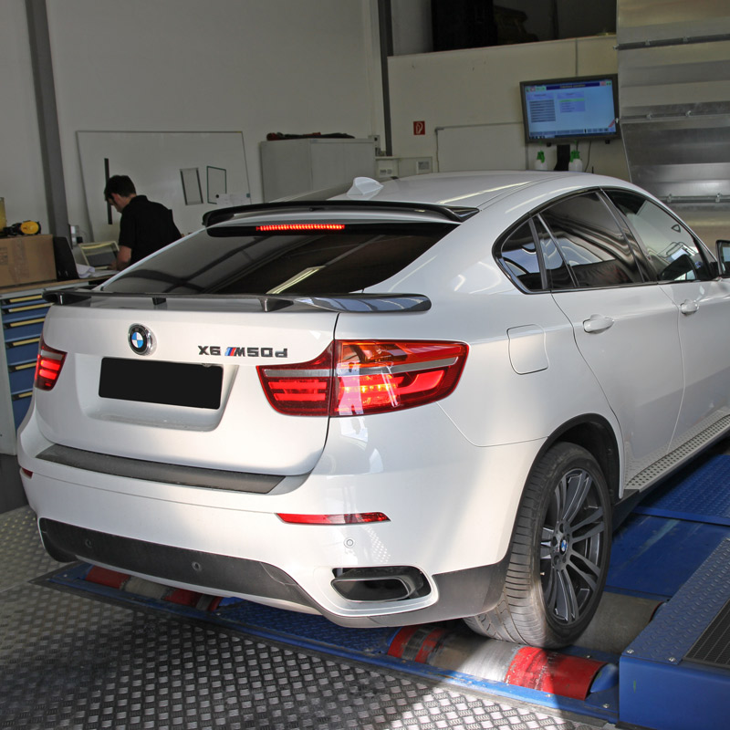 Chip tuning for the BMW X6 M50d