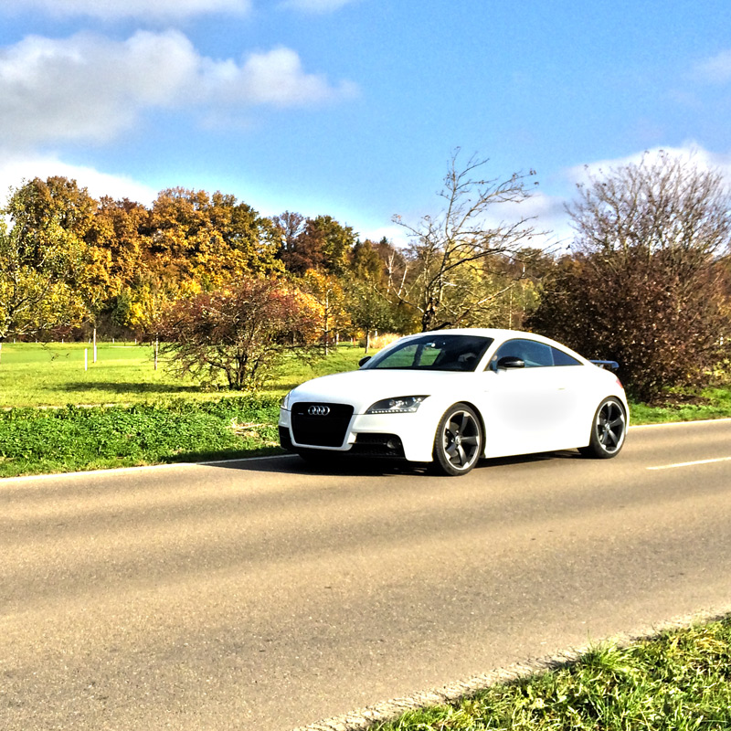 The Audi TT 2.0 TDI with additional Power