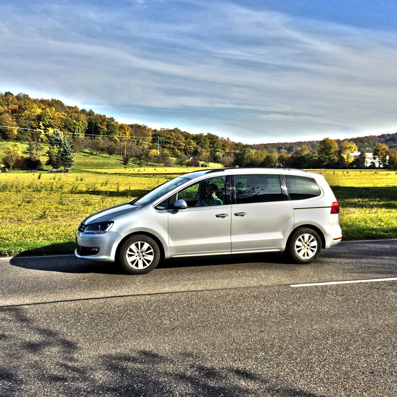 The VW Sharan 1,4 TSI in the test read more