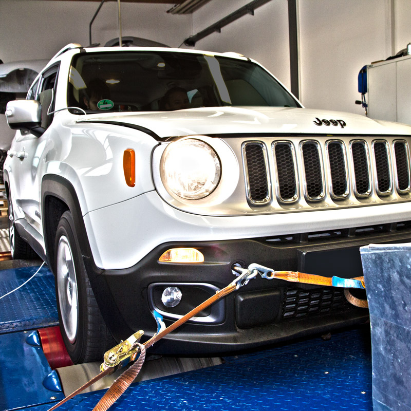 Jeep: Chiptuning at the Jeep Renegade 1.4L FIRE read more