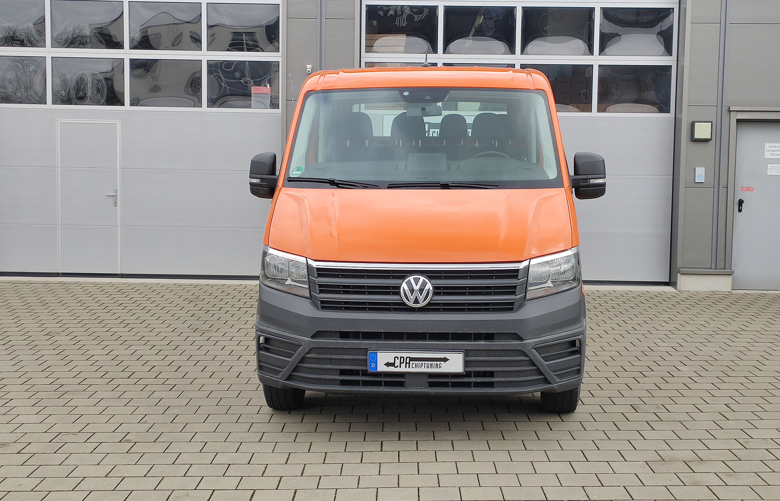 VW Crafter II 2.0 TDI chiptuning